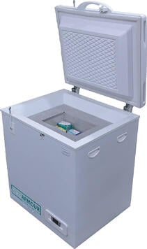 TempArmour PCM Freezer - open