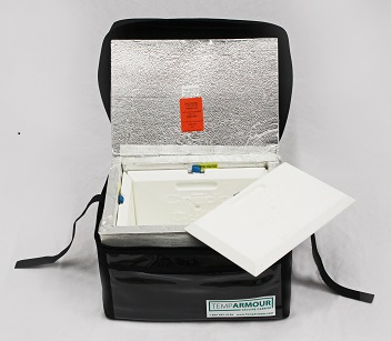 TempArmour Vaccine Carrier - open